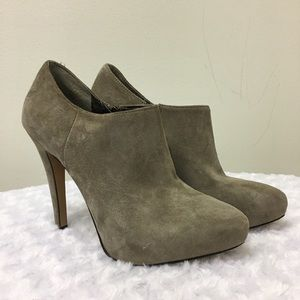 Sam Edelman Ria Suede Ankle Boots Heels